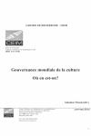 Page de couverture cahier de recherche - CEIM